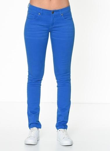 T-Box Slim Fit Pantolon Saks